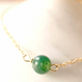 Jewelry - Necklace 40/42 cm Agate Moss - GIVE ME HAPPINESS