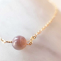 Jewelry - Botswana Agate Link Bracelet - GIVE ME HAPPINESS