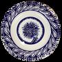 Ceramic - Dinner Plate Blue Flower - CERAMICHE NOI