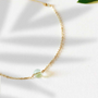 Jewelry - Fluorite Link Bracelet - GIVE ME HAPPINESS