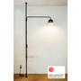 Shelves - 003 Tension Rod C Black (Vertical) - DRAW A LINE
