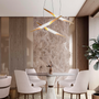 Ceiling lights - COLTRANE Suspension Lamp - CAFFE LATTE