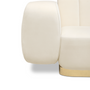 Seats - NOVAK Sofa - CAFFE LATTE