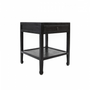 Tables - BLACK CAVIAR BED SIDE TABLE - BECARA