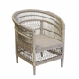 Armchairs - GATHERING WHITE ARMCHAIR - BECARA
