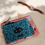 Clutches - Large Pouch: Spying Cat - CASYX