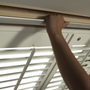 Curtains / window coverings - JASNO SHUTTERS - interior shutter with adjustable shutters in roof window and Velux - JASNO