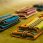 Leather goods - L SIZE TRIPLETTE POUCH - BANDIT MANCHOT