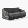 Canapés de jardin - LITUS / Canapé 2 assises - 10DEKA OUTDOOR FURNITURE