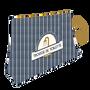 """Accessoires de voyage - Trousses de Toilette """"Golden Touch"""" - LOOPITA"""