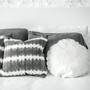 Fabric cushions - DECORATIVE LINEN CUSHION DOT 65 - MIKMAX BARCELONA
