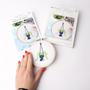 Cadeaux - Kit Broderie Green - Chaîne de Coeurs - FRENCH KITS