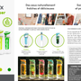 Tea and coffee accessories - DETOXIMIX FRUIT INFUSER BOTTLE - DETOXIMIX