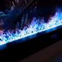 Objets design - 200-800 cm Cheminée à vapeur d'eau - Insert électrique 3D PRESTIGE AFIRE Cheminées Décoration Design - AFIRE