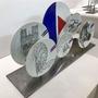 Unique pieces - Installation on base of illustrated plates ND DE PARIS - VERONIQUE JOLY-CORBIN