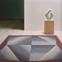 Rugs - UNFOLDED Hand knotted wool and silk rug - DEIRDRE DYSON