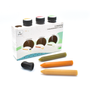 Delicatessen - Seasoning sticks boxet 3 flavours : Preserved lemon, Hotpepper & garlic, Basil - Organic - OCNI FACTORY