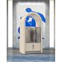 Enceintes et radios - Jukebox Orphéau | Série Arche | Blanc gris - ATELIER ORPHEAU