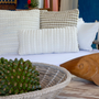 Fabric cushions - The Soft Indoors Living Tricot Collection  - ELISA ATHENIENSE HOME