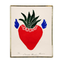 """Cadres - """"Agave in Love"""" Corazon Sketch - PINK PAMPAS"""
