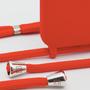 Accessoires de voyage - Coque cordon (avec corde) : Imperial Red  - CASYX