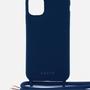 Accessoires de voyage - Coque cordon (avec corde) : Cobalt Blue - CASYX