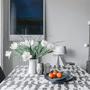 Linge de table textile - OCÉAN - Nappe en Ikat - CONSTELLE HOME