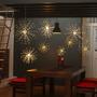 Guirlandes et boules de Noël - Hanging Starburst Decorative Light  - LIGHT STYLE LONDON