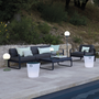 Outdoor LED modules - INOUÏ | Luminous stool - FERMOB