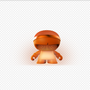 Enceintes et radios - XBoy Glow Orange - XOOPAR