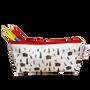 Bags and totes - Powderhound Skier Oilcloth Washbag  - POWDERHOUND