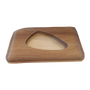 Decorative objects - Valet tray rectangle (31x18cm) made of Palm trees leaves - ARECABIO