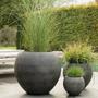 Floral decoration - BUNDLE outdoor cement pot - D&M DECO
