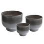 Decorative objects - SHADE indoor ceramic pot  - D&M DECO