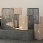 Objets de décoration - LIMPID lanterne en corde de coton - D&M DECO
