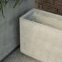 Floral decoration - TOUGH outdoor fibre stone pot  - D&M DECO