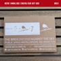 Objets de décoration - Metalbird Hibou - METALBIRD