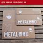 Objets de décoration -  Metalbird Rouge-gorge duo - METALBIRD