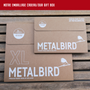 Objets de décoration - Metalbird Moineaux  - METALBIRD