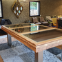 Objets design - Billard table Megève - BILLARDS ET BABY-FOOT TOULET