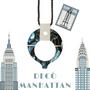 Bijoux - Collier-lunettes Decò Manhattan et Decò Madrid. - FLIPPAN' LOOK