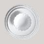 Formal plates - Perlée Plate - BOURG-JOLY MALICORNE