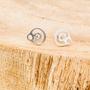 Jewelry - BeYou Energetic Symbol: Sterling Silver Earrings - BEYOU BY BEYOUBEUNITED