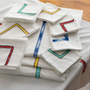 Table linen - TABLECLOTHE NAPKIN HAND EMBROIDERED - NADIA DAFRI