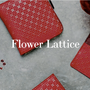 Leather goods - Flower Lattice  - INDEN EST.1582