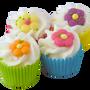 Cosmétiques - Mini Cupcake Comme un Jardin  - AUTOUR DU BAIN