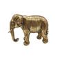Decorative objects - GOLDEN ELEPHANT STATUE 28X11X20CM - EMDE