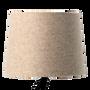 Abat-jours - Abat-jour cylindrique en laine beige diamètre 20cm - univers montagne  - CRÉATIONS LÉONIE'S FRANCE
