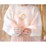 Decorative objects - Sparklers Heart, gold, 16.5cm - PARTYDECO