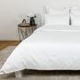 Bed linens - Resort & Hotel Bedding - Douro Valley White Duvet Cover and Sateen Sheet Set - VIDDA ROYALLE